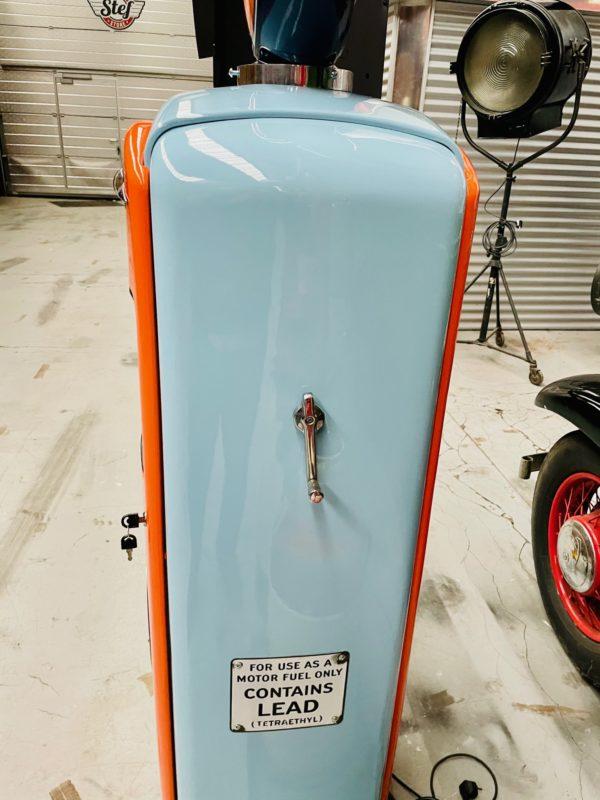 Pompe à essenceGulf restaurée 2