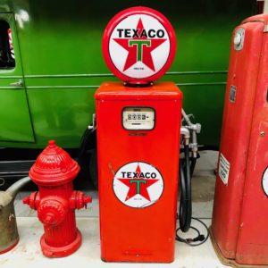 Pompe à essence Texaco Tokheim