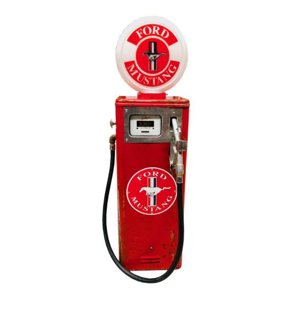 Pompe à essence Ford mustang Gilbarco dans son jus