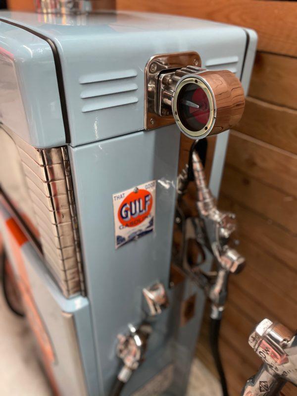 Pompe à essence Gulf restaurée wayne 500