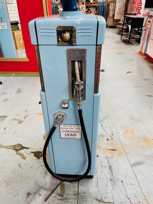 Pompe à essence américaine Gulf