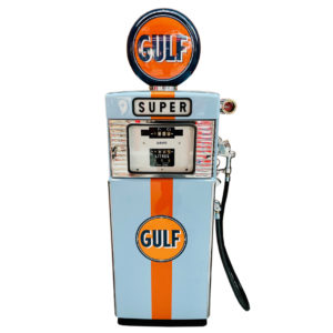 Gulf restored gas pump