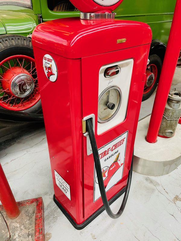 pompe à essence Texaco restauré 1957