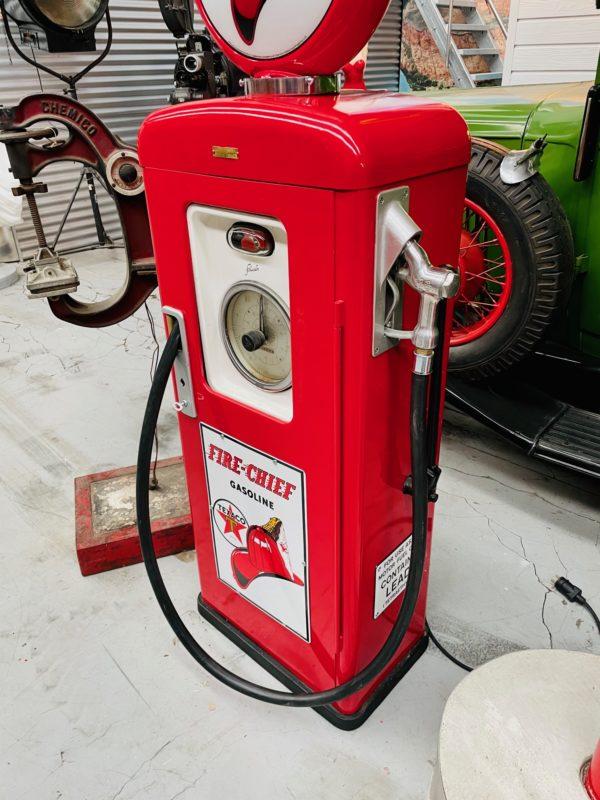 pompe à essence Texaco Fire chief de 1957