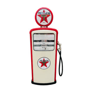 Pompe à essence Texaco restaurée