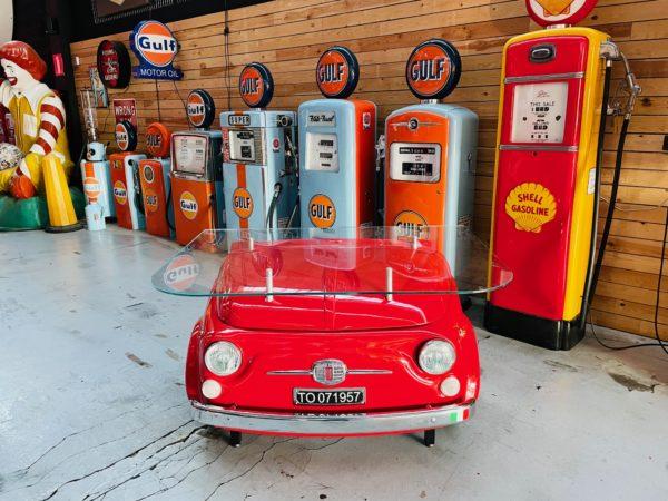 Bureau Fiat 500 tout en métal