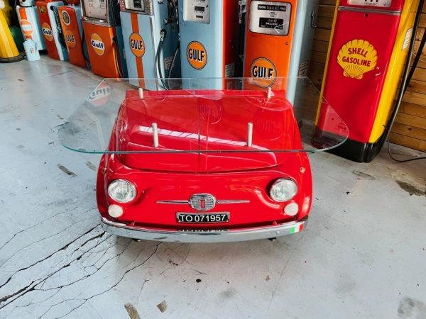 Bureau Fiat 500 (en métal)