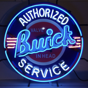 Buick authorized service neon sign 60 cm