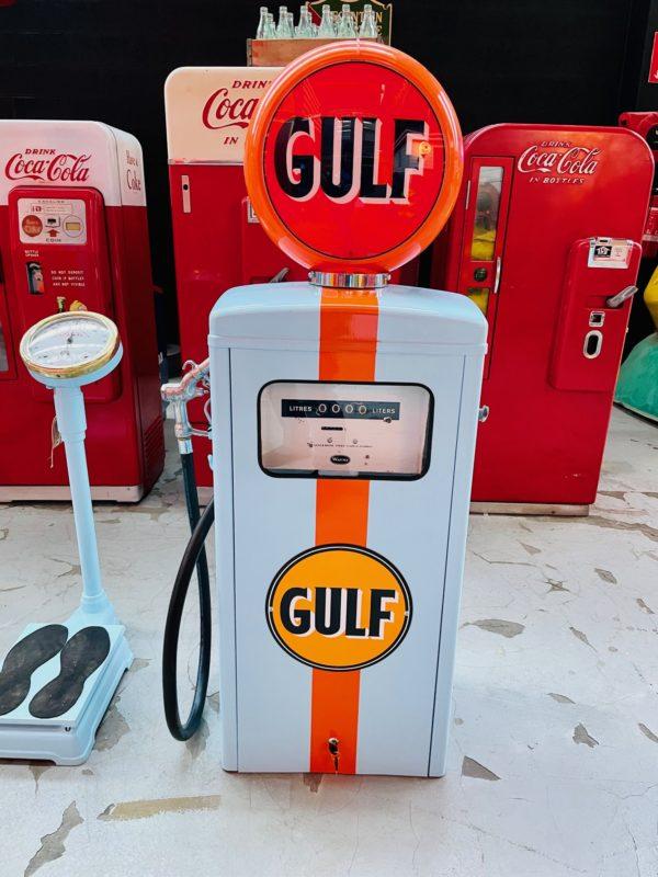 Pompe à essence Gulf wayne Restaurée 1