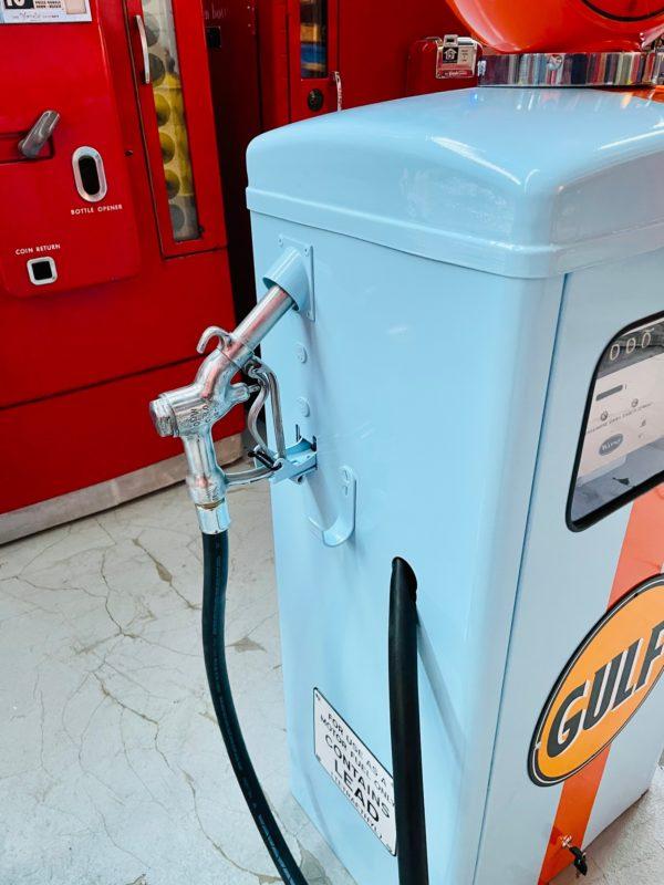 Pompe à essence américaine gulf wayne