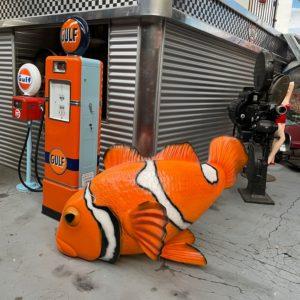 Nemo statue grandeur nature XXL 235 cm x 135 cm (polyester -résine)
