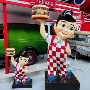 Statue BIG BOY American Diner 240cm