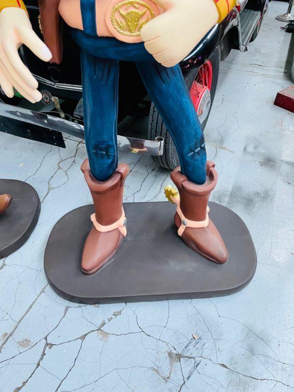 Woody statue résine grandeur nature 180 cm a