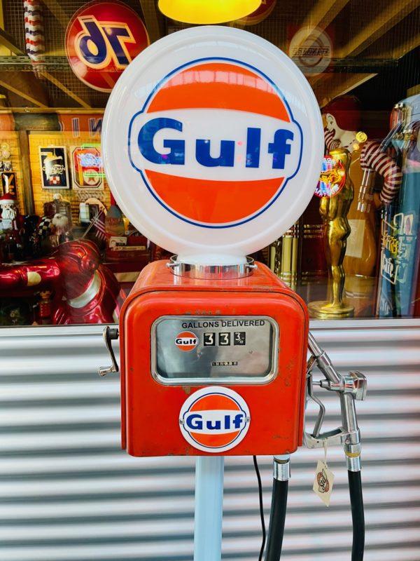 Pompe à essence Gasboy gulf