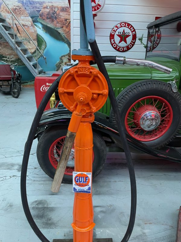 Pompe à essence Gulf scapi