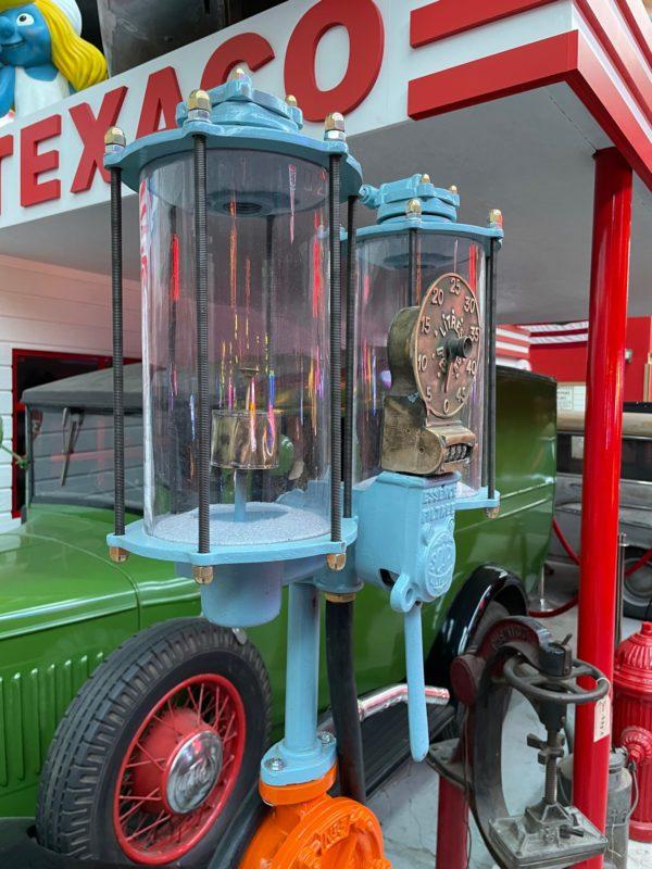 Pompe à essence Gulf de 1920
