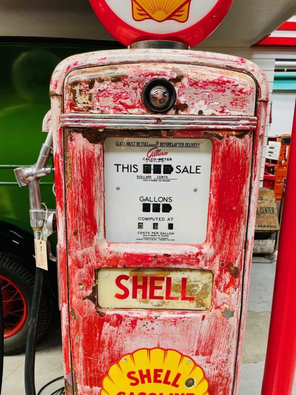 Pompe à essence américaine Shell Gilbarco 2
