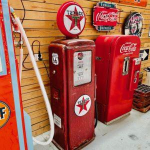 Pompe à essence américaine Texaco Tokheim T39