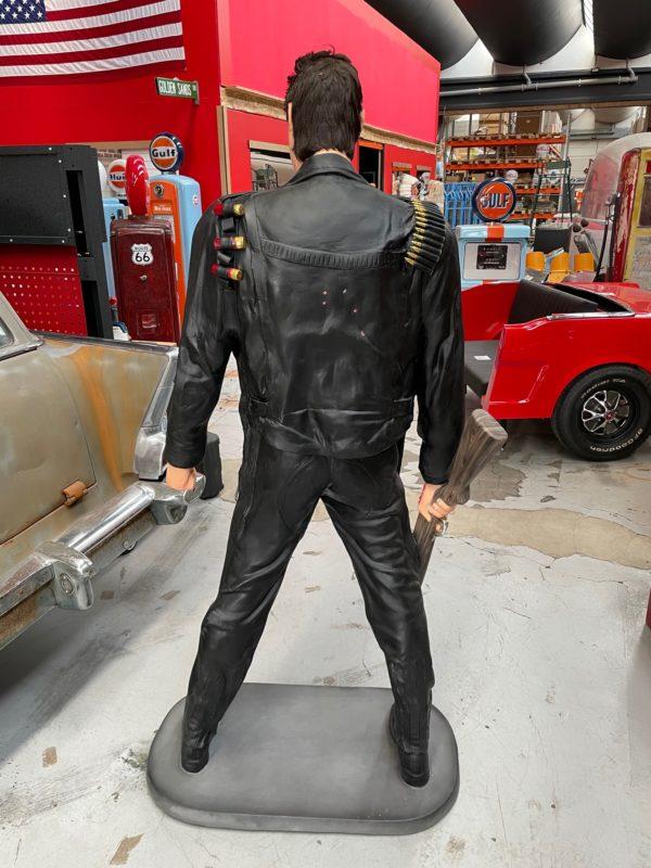 Terminator statue grandeur nature 194cm Arnold