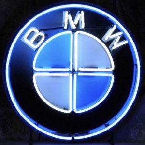 Enseigne neon BMW 60cm