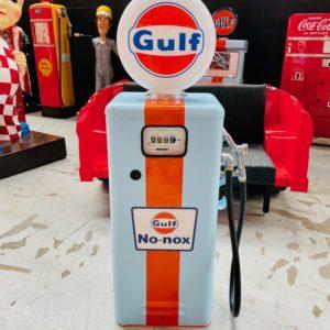 Pompe à essence Gulf Tokheim américaine