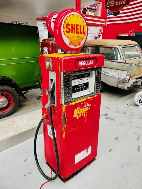 Pompe à essence américaine Wayne shell