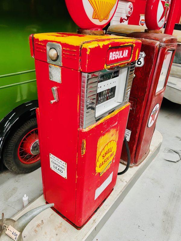 Pompe à essence américaine Shell Wayne