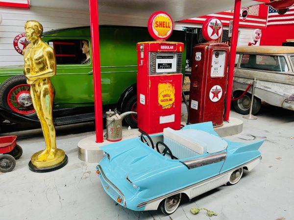 Pompe à essence américaine Shell Wayne 500