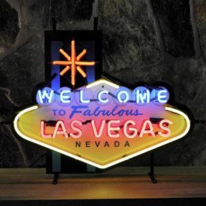 Enseigne neon Las Vegas nevada 71x58cm