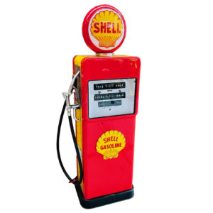 Pompe à essence Shell Américaine de 1958 restaurée