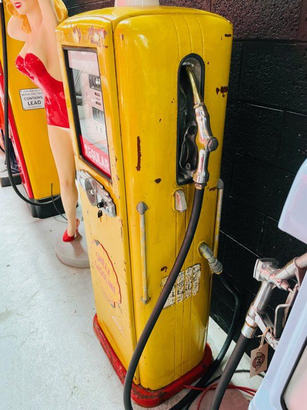 Pompe à essence américaine Shell AO smith way