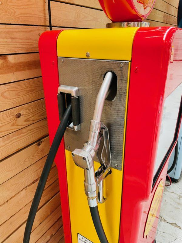 ancienne Pompe à essence bowser modele 1510 restaurée